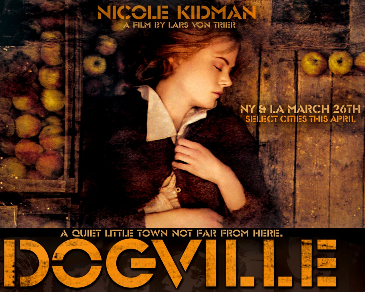 CINESPERA AWARDS 2003    Ganadora = Dogville